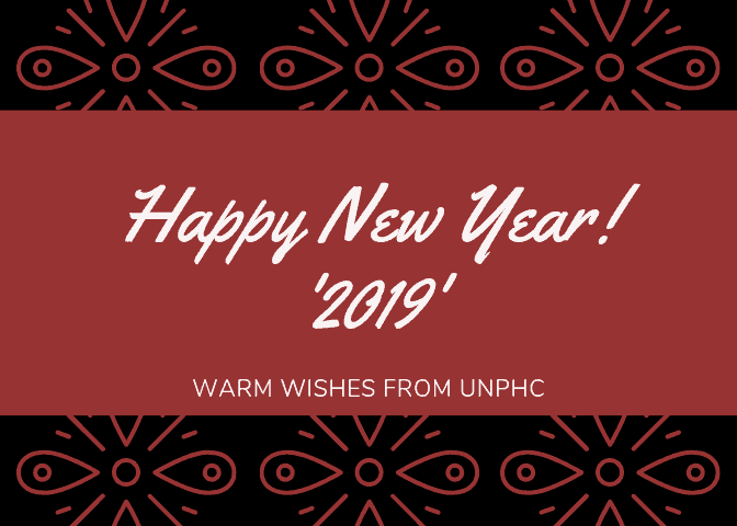 Happy New Year UNPHC Residents!