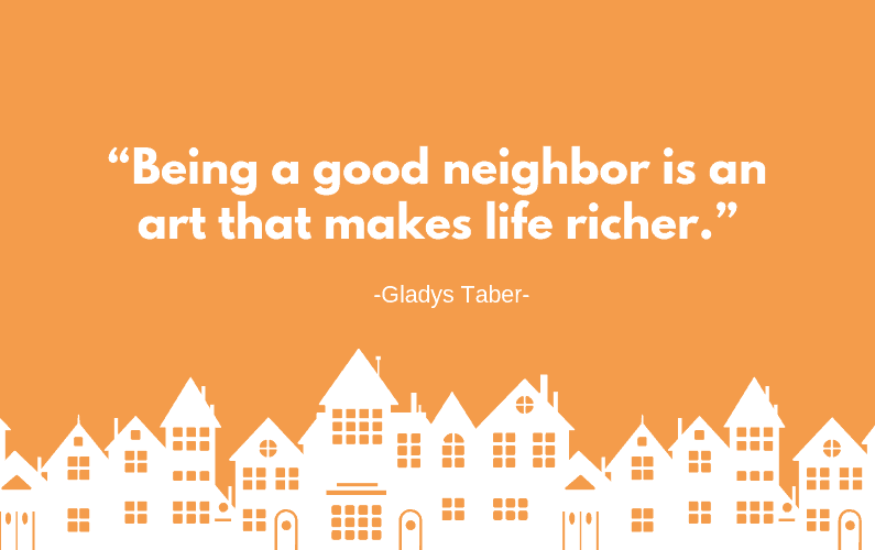 A Good Neighbor Featured Image